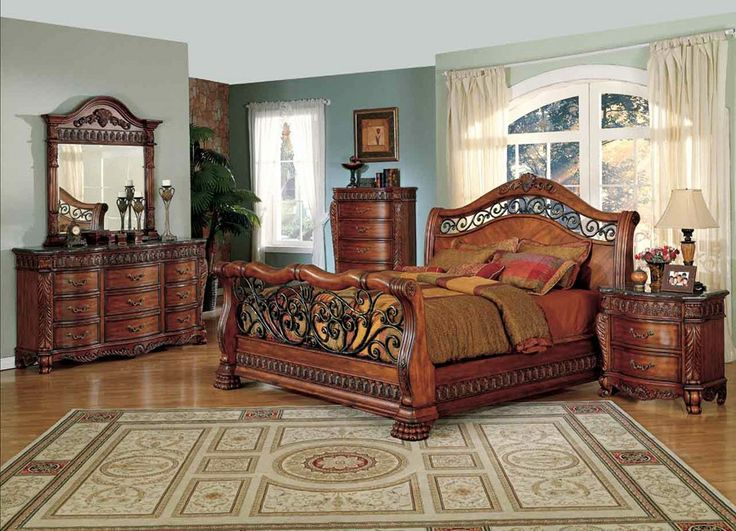 Traditional California King Bedroom Sets 8106