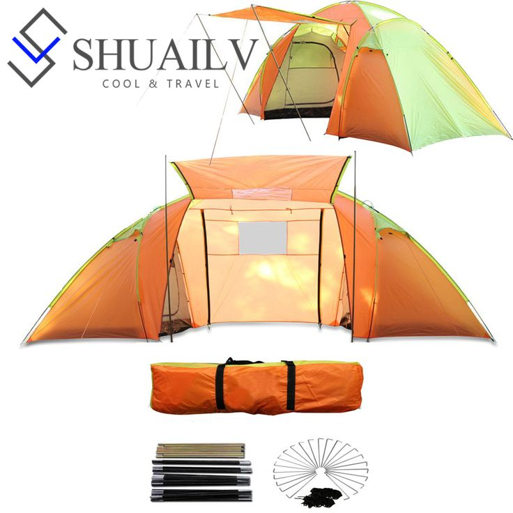 Large Camping Beach Tent Outdoor Windproof Waterproof Big Hose Tents 2 Bedrooms Two Door Double Party Family Travel Tents   Tag a friend who would love this!   FREE Shipping Worldwide   Get it here ---> http://extraoutdoor.com/products/large-camping-beach-tent-outdoor-windproof-waterproof-big-hose-tents-2-bedrooms-two-door-double-party-family-travel-tents/