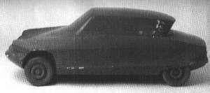 OG   Citroën Ami 6 - Project M   Plaster scale mock-up