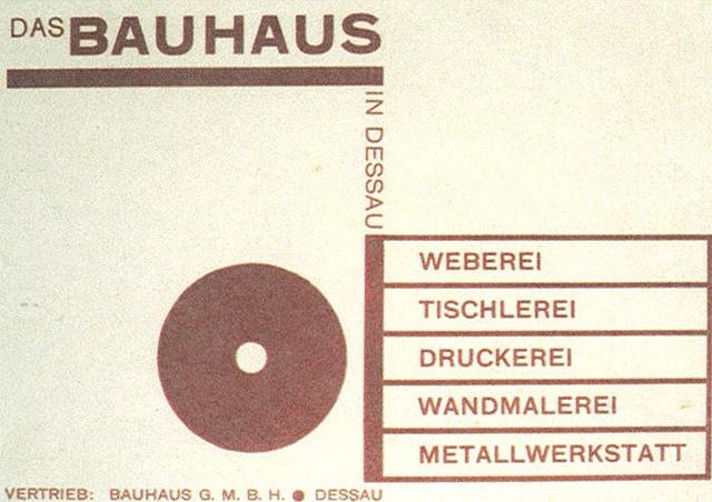 Joost Schmidt, Das Bauhaus in Dessau, 1925-26