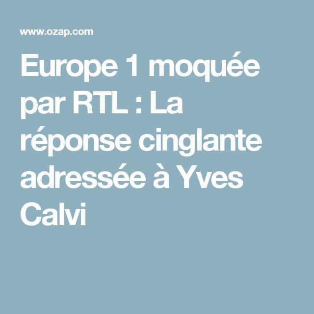 Europe 1 moquée par RTL : La réponse cinglante adressée à Yves Calvi