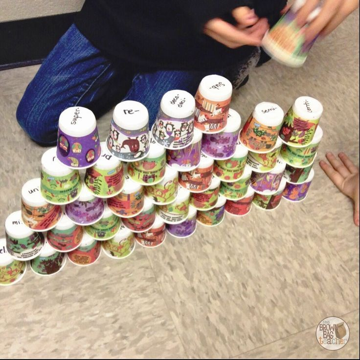 """The Brown-Bag Teacher: """"Stacks"""" game- Greek/Latin Roots, vocabulary practice"""