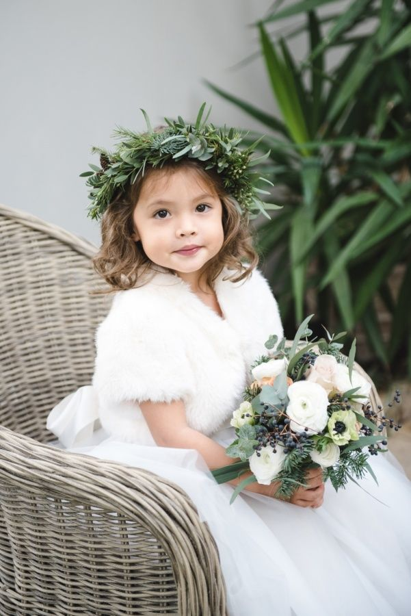 The cutest little one: http://www.stylemepretty.com/destination-weddings/2016/06/23/this-christmas-affair-is-what-winter-dreams-are-made-of/ | Photography: Weddings By Nicola And Glen - http://weddingsbynicolaandglen.com/