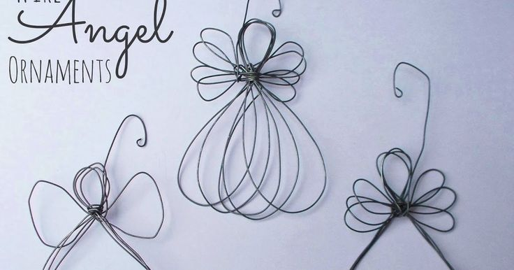 Learn how to make an Angel ornament out of wire as part of the 12 Days of CHRISTmas Ornaments series.