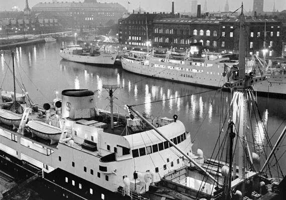 Københavns Havn 1955