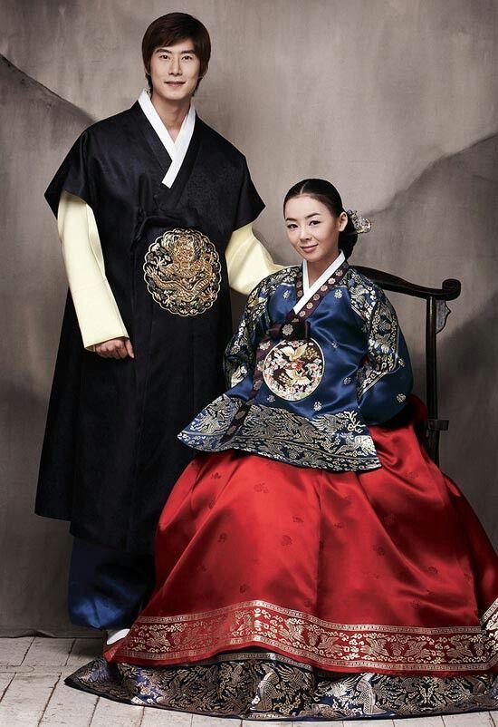 Korean wedding hanbok