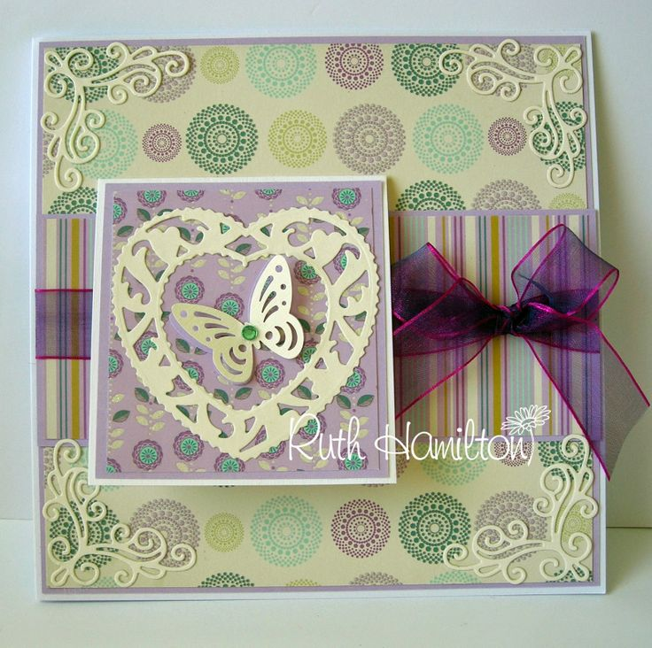 Blog tonic: Card with front flap...from RUTH