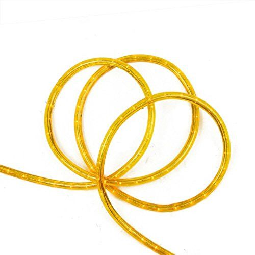 Felices Pascuas Collection 18' Gold Indoor/Outdoor Christmas Rope Lights