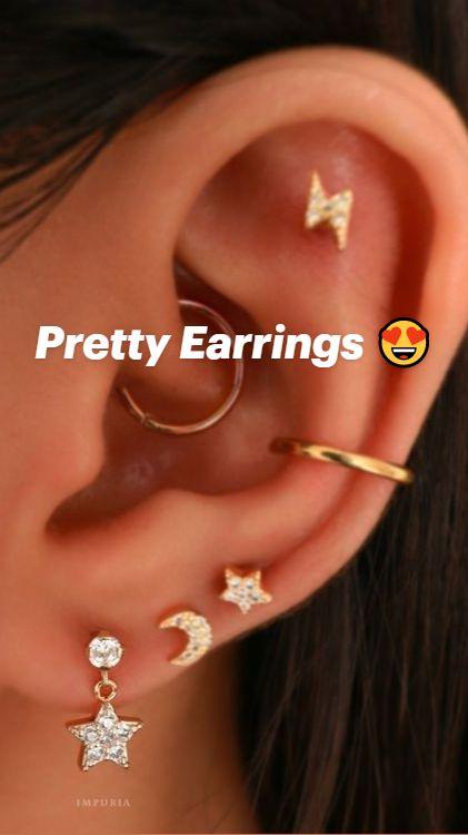 Ear Piercings Chart, Piercing Chart, Cool Ear Piercings, Daith Piercing, Peircings, Cartilage Earrings, Piercing Tattoo, Tragus, Ear Jewelry