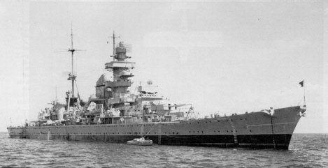 """Die Hipper-Klasse Das dritte und letzte fertiggestellte Schiff dieser Baureihe, die Prinz Eugen. Von der damaligen Besatzung wurde das Schiff meistens nur """"der Prinz"""" genannt."""