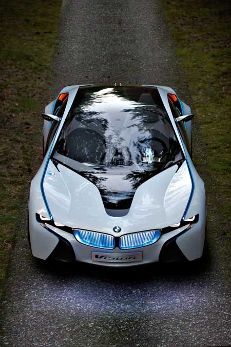 As usual, I've gotta hand it to BMW for pushing the bar on conceptual cars and encouraging artists and designers to think anything is possible. This is the Vision EfficientDynamics BMW hybrid, unveiled back in 2009.