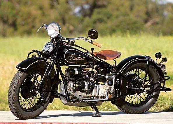 Vintage American Motorcycles 17