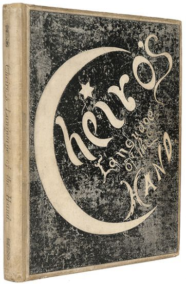 CHEIRO [William John Warner]. Cheiro's Language of the Hand.  New York: Published by the author, 1894. #occult #palmistry