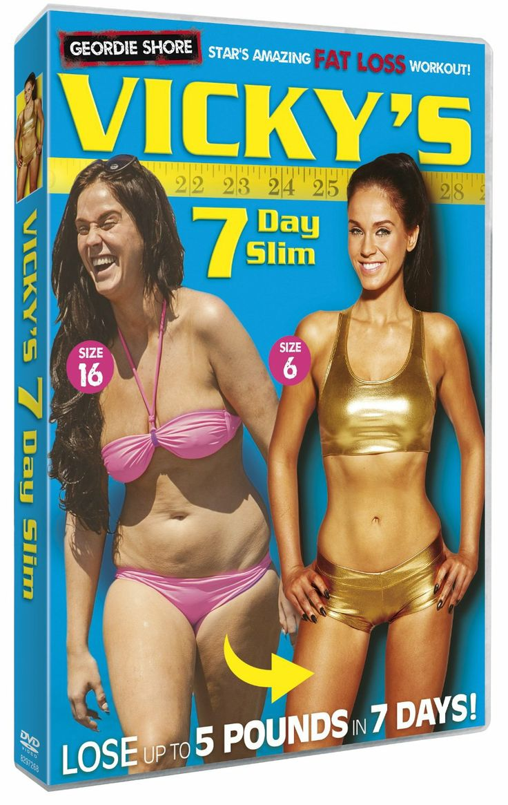 Vicky Pattison's 7 Day Slim DVD, which is still one of the best-selling workout DVDs in the UK in 2015.