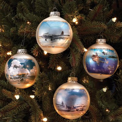 Military Aviation Ornament Gift Pack $24.95