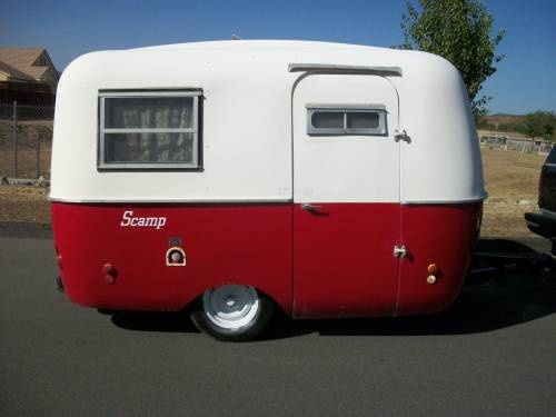 Campers For Sale In Ga >> 1973 Eco Egg 13 foot Fiberglass Travel Trailer $3250 | TCT Classifieds - For Sale | Pinterest