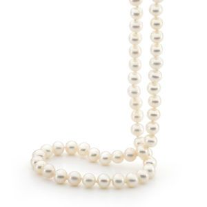 Coloured 7mm Freshwater Pearl Necklace, 45cm - Shop our jewellery store in Port Fairy - Victoria, Australia.