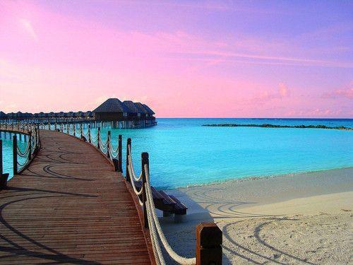 Looks like the Maldives