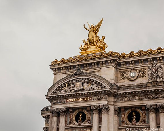 Opera Garnier detail Paris photography french by FlaviaMorlachetti