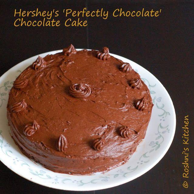Hershey's 'Perfectly Chocolate' Chocolate Cake. The name says it ...