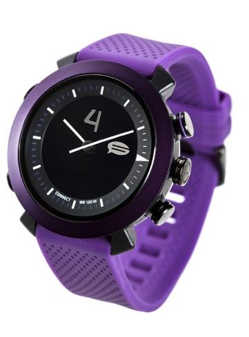 Stylish, bright and colourful, the Cogito Classic in purple should be an essential for every outfit. $179.95  URL: http://cogitowatch.com/classic.html