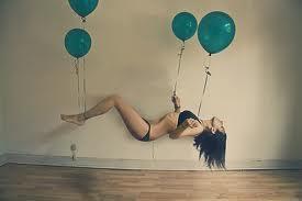 Sé leve como un globo y los problemas te afectarán menos de lo que piensas.