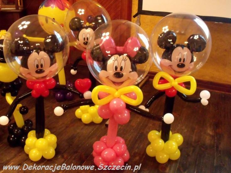 Mickey and Minnie Mouse# balloon #