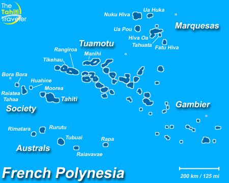 Would love to tour these islands - French Polynesian Islands