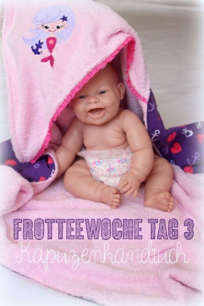 Frotteewoche Tag 3 - Kapuzenhandtuch Tutorial - frlrosa.de