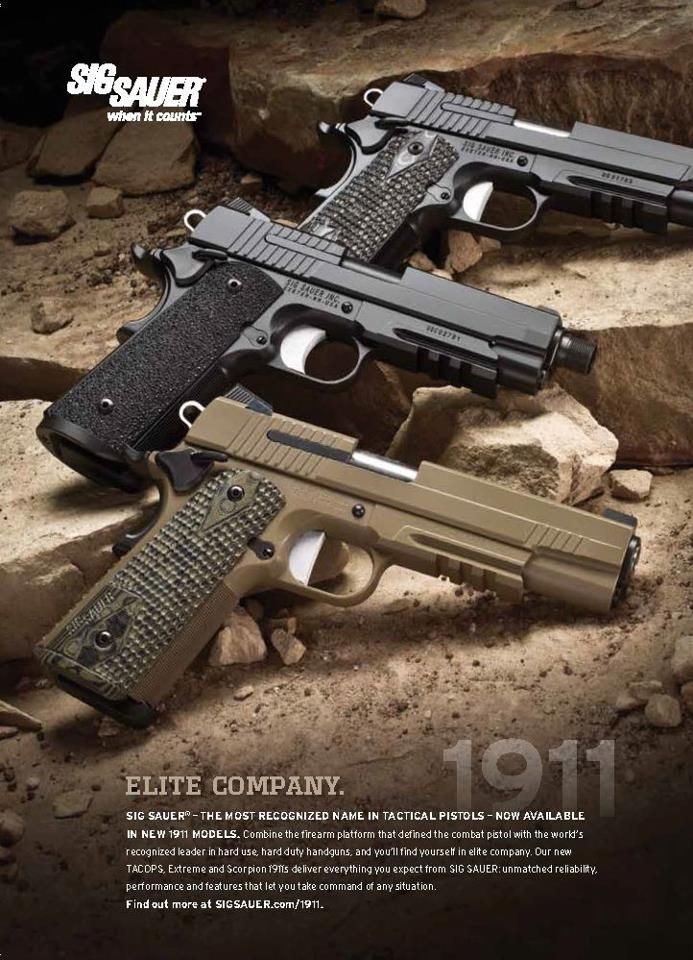 Sig Sauer. Enough Said. Dad says it should be in every girl's wardrobe