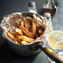 triple cooked chips (french fries) | TS favs | Pinterest