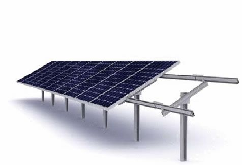 Ground solar PV Panel Mounting System