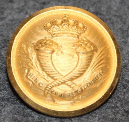 Sveriges Riksbank, The bank of Sweden, 23mm gilt, w/ crown