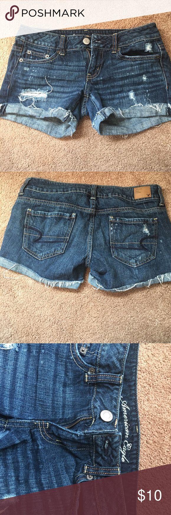 American Eagle denim shorts American Eagle denim shorts. Only worn a few times and in good condition! American Eagle Outfitters Shorts Jean Shorts