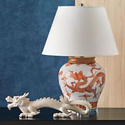 Dragon Spice Table Lamp
