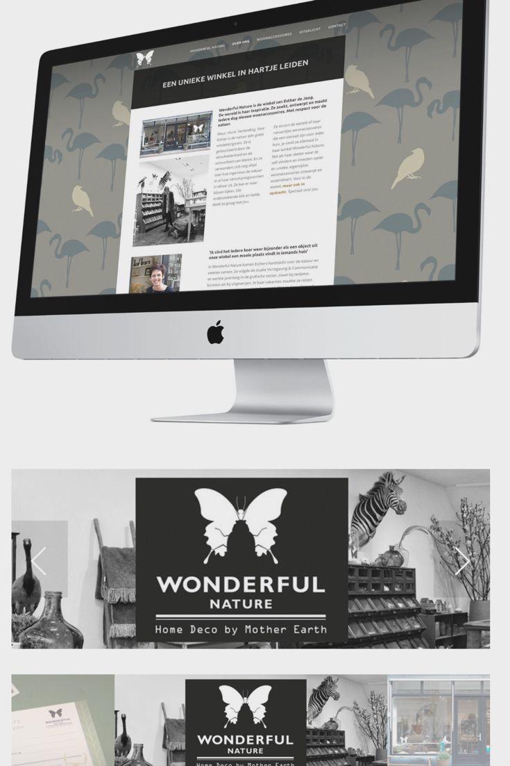 Grafisch ontwerp  Windkracht 10 tekende met veel plezier voor de complete uitstraling van Wonderful Nature. Van het logo, de tekstconcepten en de website tot de fotografie en de belettering van de winkel.