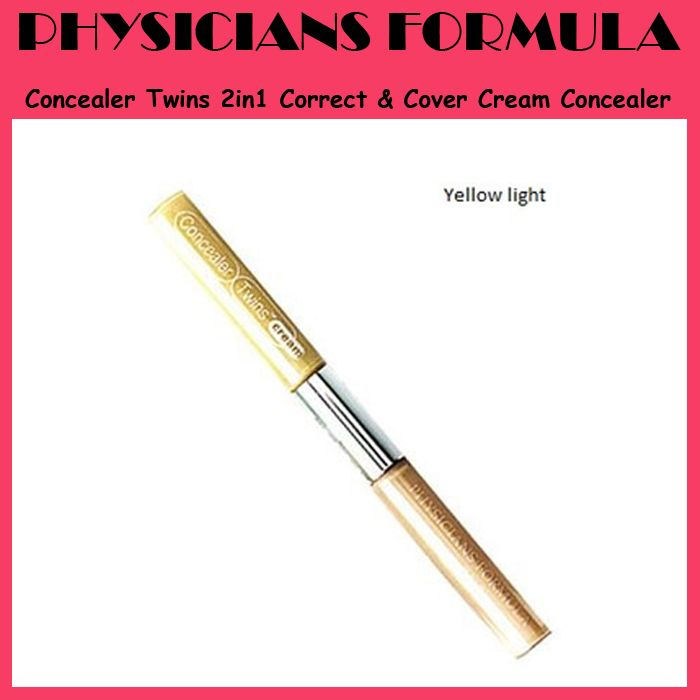 Physicians Formula Concealer Twins 2in1 Correct & Cover Cream Concealer - IDR 163.500 (Free Shipping)