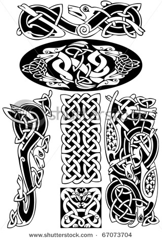 Vectors Illustration Of Celtic Knot Work B
