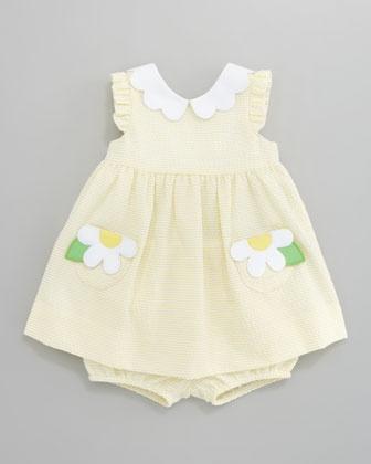 Daisy Pockets Seersucker Dress by Florence Eiseman at Bergdorf Goodman.
