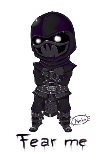 Noob Saibot from Mortal Kombat by Senhoshi on DeviantArt