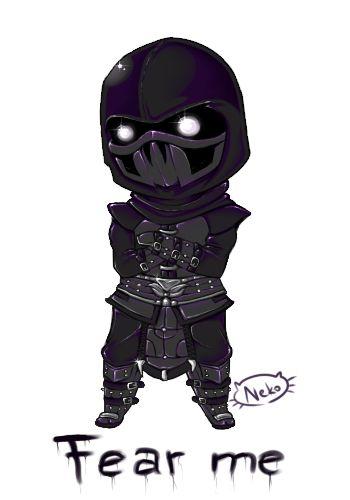 Noob Saibot from Mortal Kombat by Senhoshi on DeviantArt