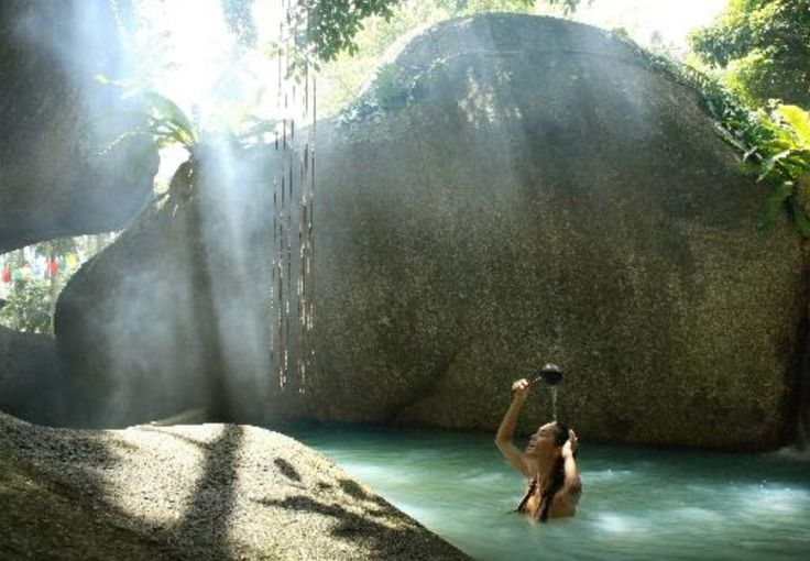 It was amazing; Spa in forest : Tamarind Springs / Koh Samui