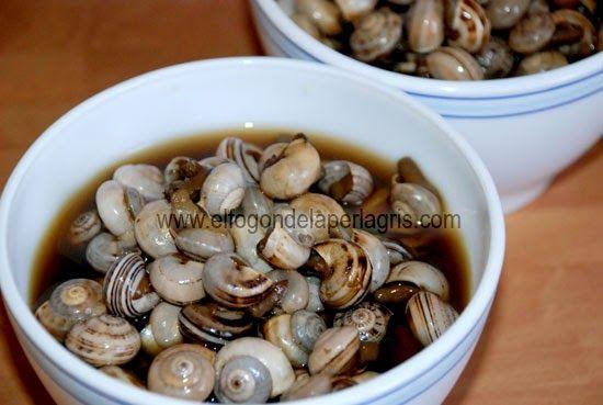 Receta de caracoles tradicional