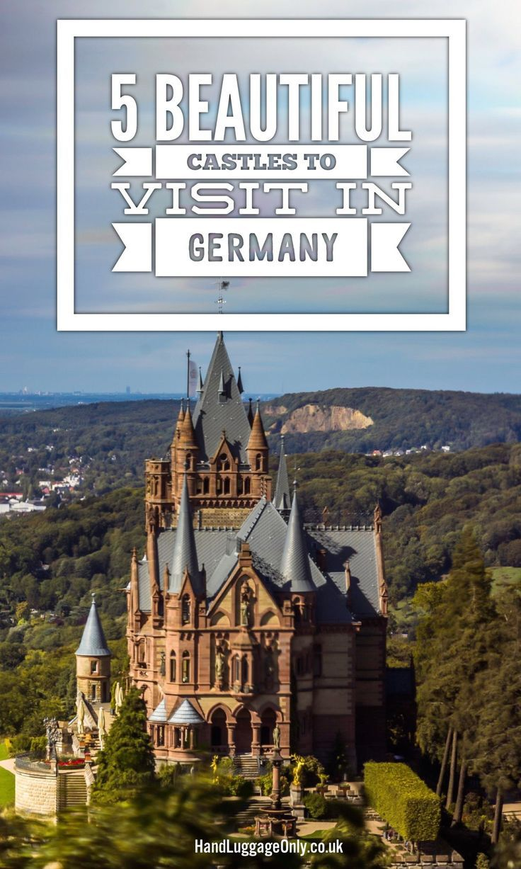 5 Amazing Castles In Germany You Have To Visit In The New Year! - Hand Luggage Only - Travel, Food & Photography Blog