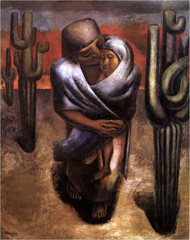 siqueiros peasant mother - Google Search