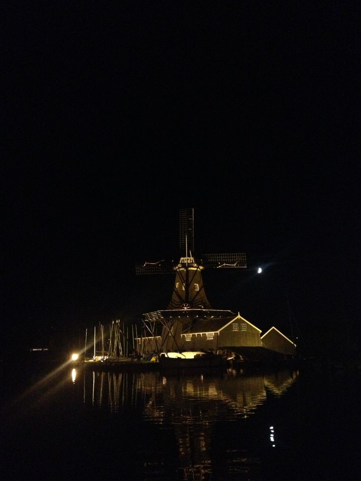 The Mill and The Moon in Woudsend, Friesland