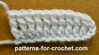 Crochet Stitches Dtr : Treble Crochet (dtr UK) Used for drop stitches etc. For more Stitches ...