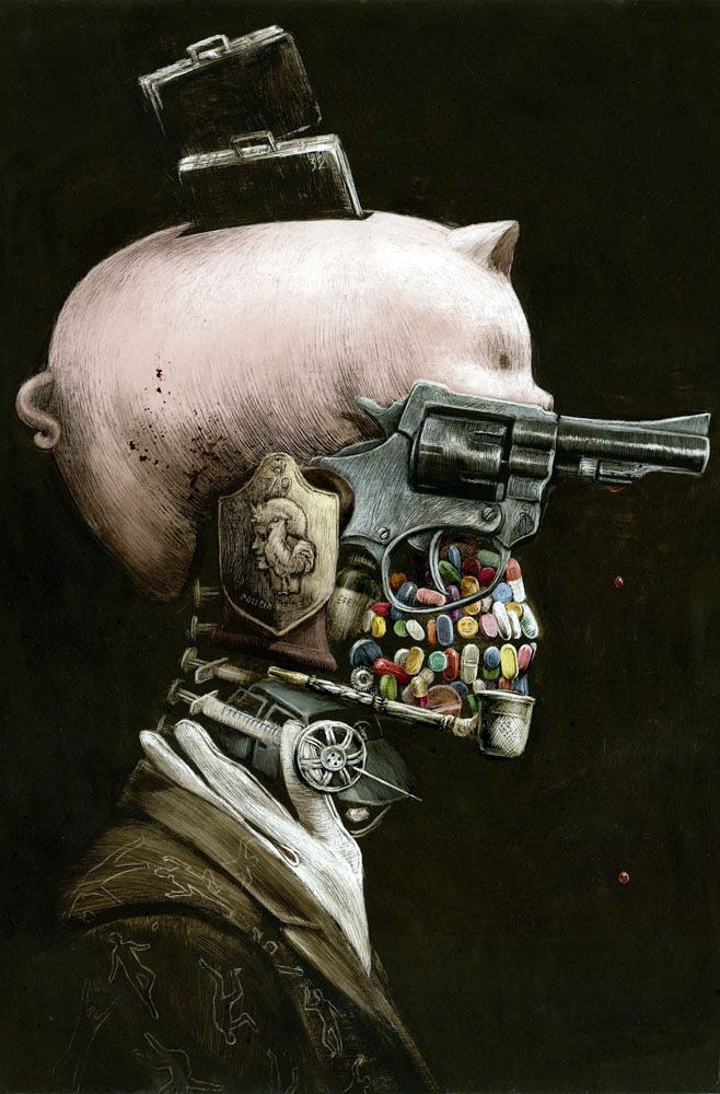 25 Stunning Surreal Oil Paintings by Santiago Caruso