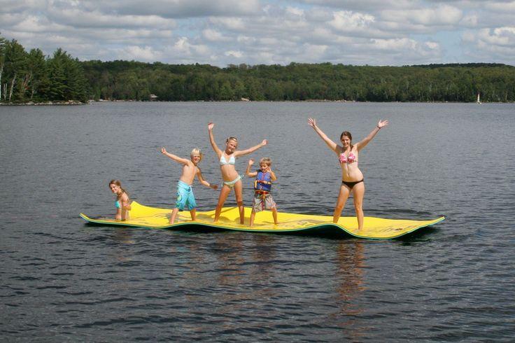 Aqua Lily Pad Floating Water Mat Lake Toys Water Toys