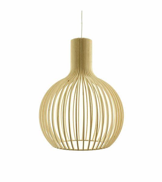 Lampa wisząca Lenore 5114 drewniana w Lenore na DaWanda.com